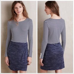 Anthropologie Dolan Striped Cotton Dress